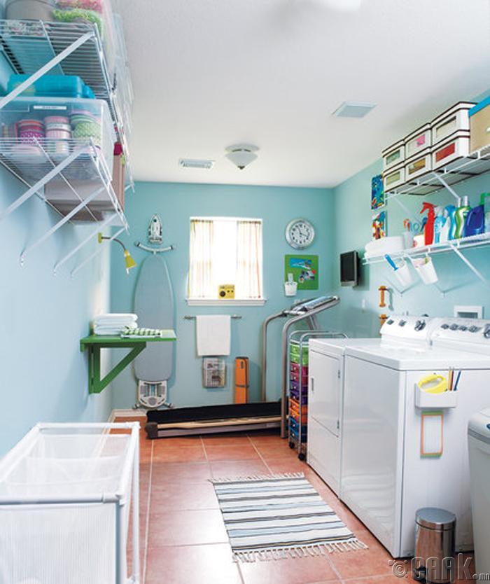 Угаалгын машинаа байршуулах