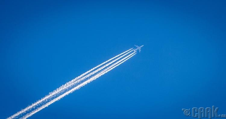 Онгоц тэнгэрт цагаан мөр үлдээдэг шалтгаан