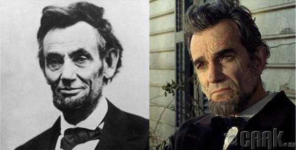 "Авраам Линкольн (Abraham Lincoln)- жүжигчин Дэниэл Дей-Льюис (Daniel Day-Lewis) ""Lincoln"""