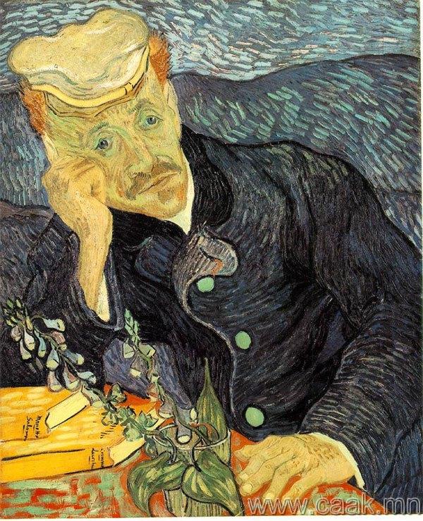 Винсент ван Гог — Доктор Гаше-гийн хєрєг (1890)