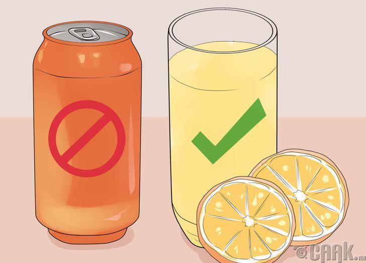 Хийжүүлсэн ундаанаас татгалзах
