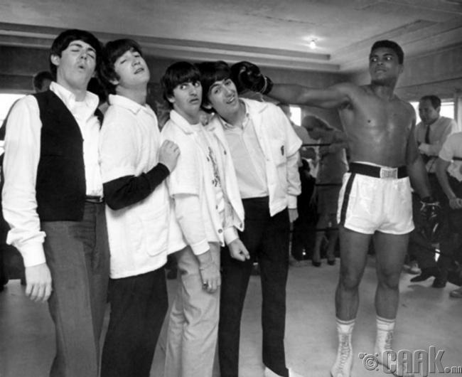 """""""Битлз"""" VS Мухаммед Али, 1964 он"""