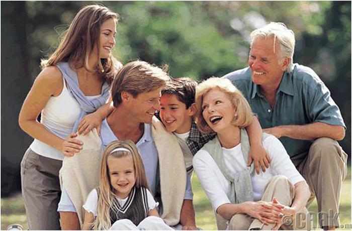 Гэр бүлийнхэнтэйгээ танилцуулах