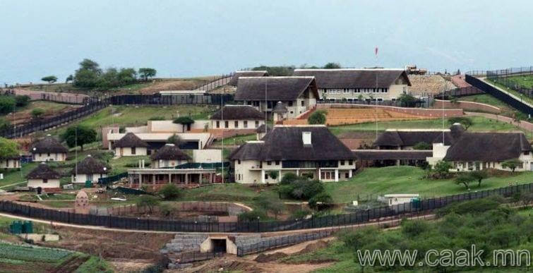 Өмнөд Африк: Ерөнхийлөгчийн байшингийн зураг
