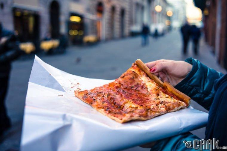 Нью-Йорк: Нэг зүсэм пицца