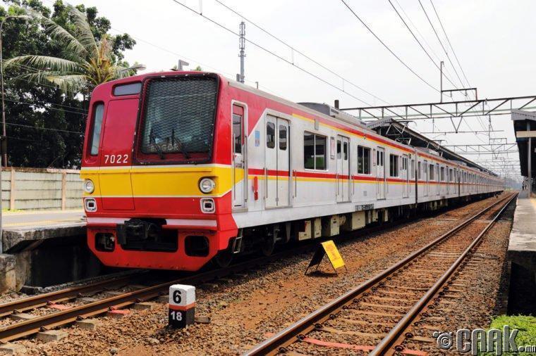 Индонез: Богоро хотоос Жакарта орох галт тэрэгний тасалбар
