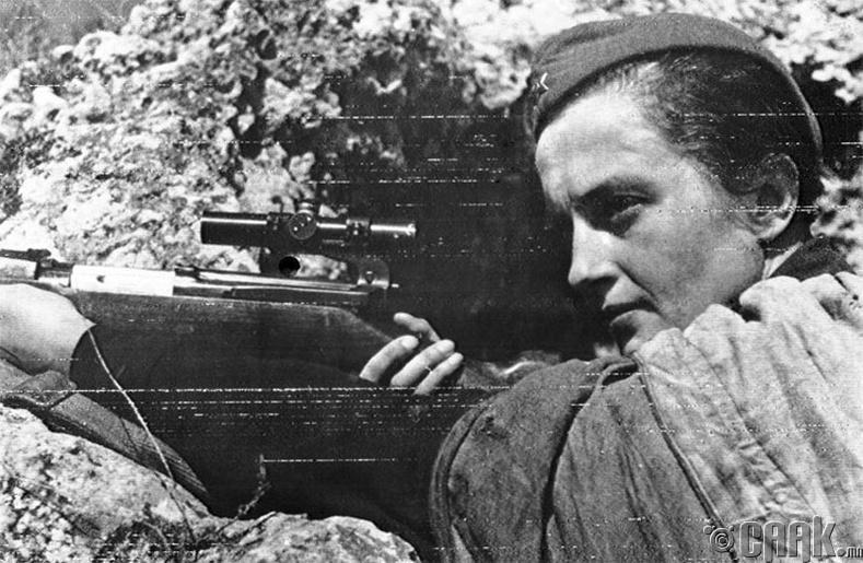 Людмила Павличенко (Lyudmila Pavlichenko)