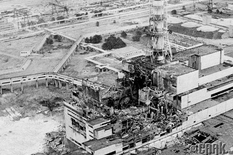 Чернобылийн хор хөнөөлийг нуусан