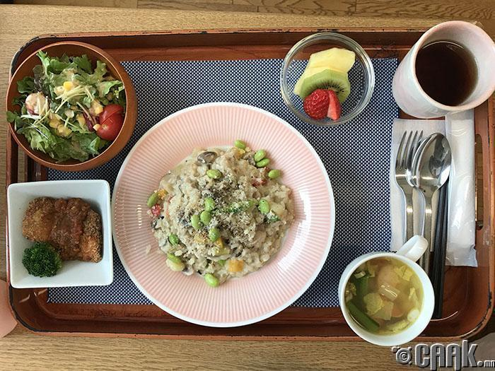 Өдрийн хоолонд Рисото