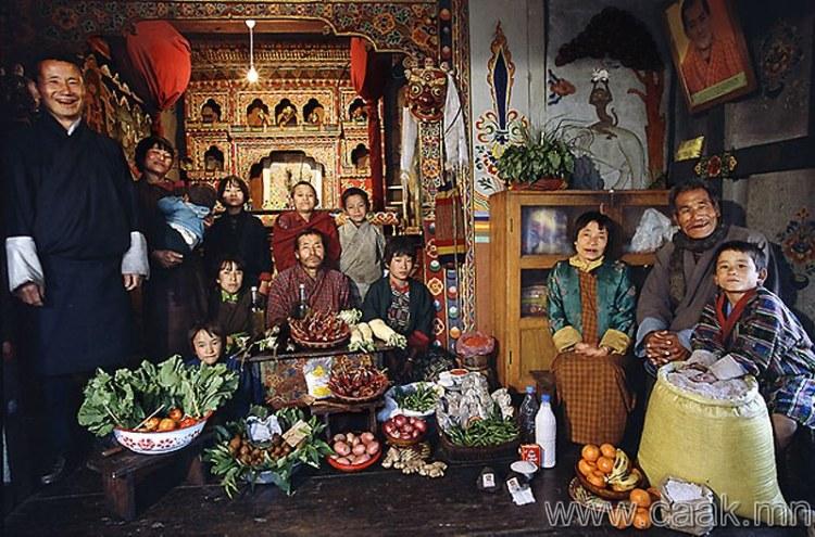 Бутан: Namgay Shingkhey-гийн Виллиж-ийн гэр бvл