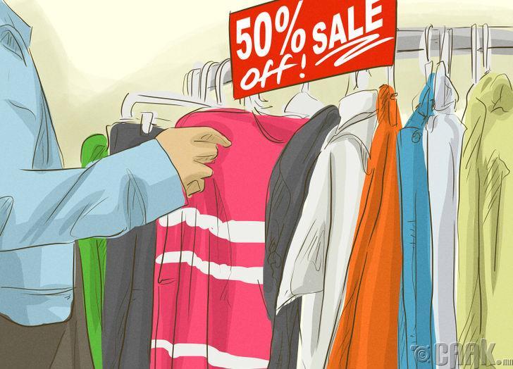 Хямдралтай хувцас сонгох