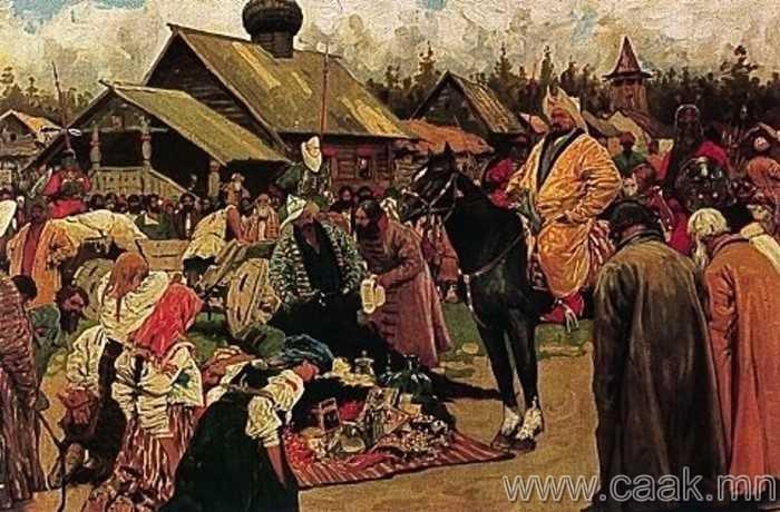 Монголчууд цэргүүддээ цалин өгдөггүй байсан.