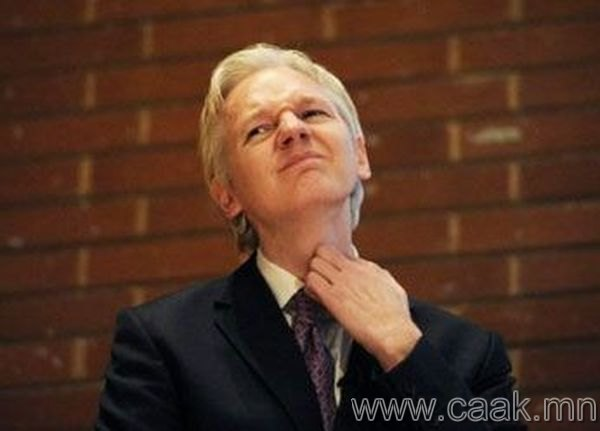 Жулиан Ассанж. Wikileaks. 2010 он