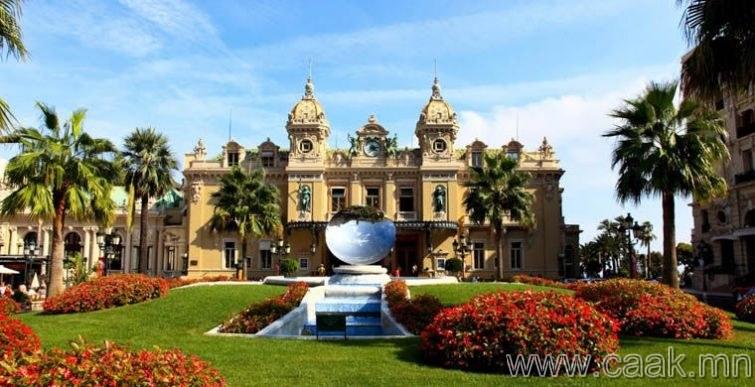 Монако: Монако иргэд казино тоглох хориотой