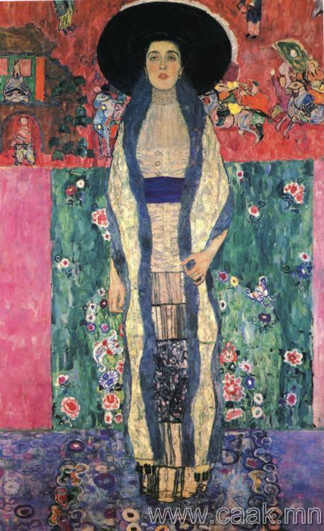 Густав Климт —Адель Блох-Бауэр-ын II хєрєг (1912)