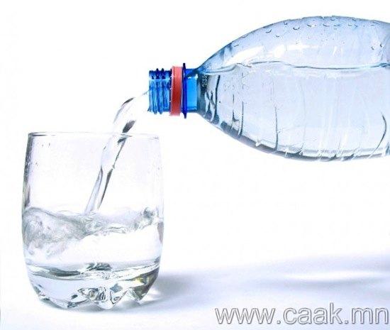 Өдөрт заавал 8-аас доошгүй  стакан ус ууж бай.