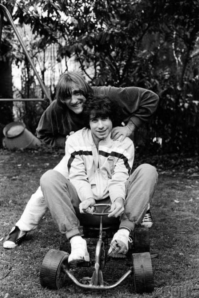 Жерар Депардье болон Жон Траволта нар, 1982 он