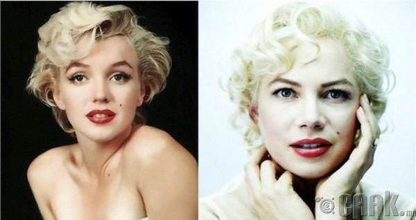 "Мэрилин Монро (Marilyn Monroe)- жүжигчин Мишель Уильямс (Michelle Williams) ""7 days and nights with Marilyn"""