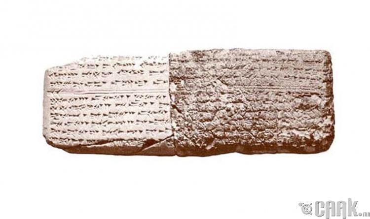 Хөгжимийн нот - 3400 жилийн настай