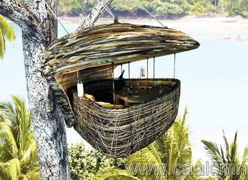 Модон дээрх ресторан