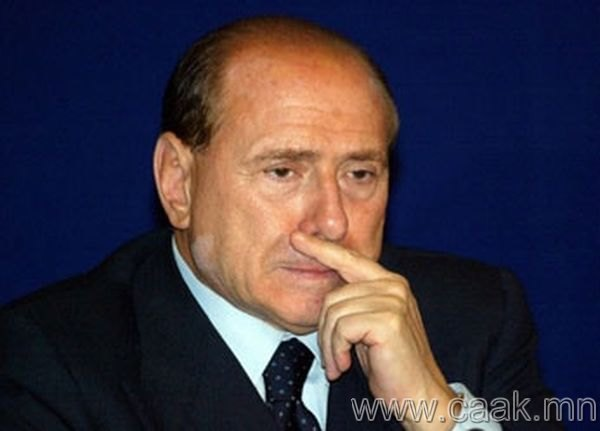 Сильвио Берлускони. Итали. 2011 он