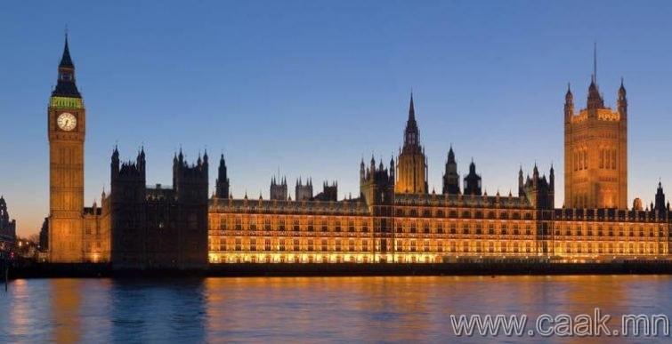 Их Британи: Парламентын тэнхимд нас барах