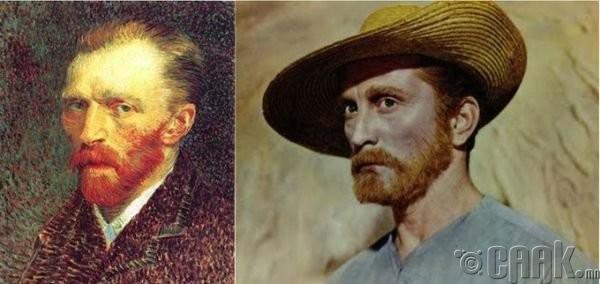 "Винсент Ван Гог (Vincent Van Gogh)- жүжигчин Керк Дуглас (Kirk Douglas) ""Lust for Life"""