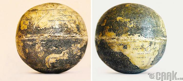 Глобус - 510 жилийн настай