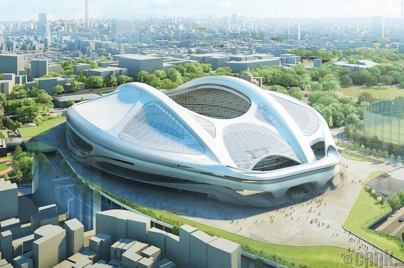 Токио хотын олимпын стадион 2020 он