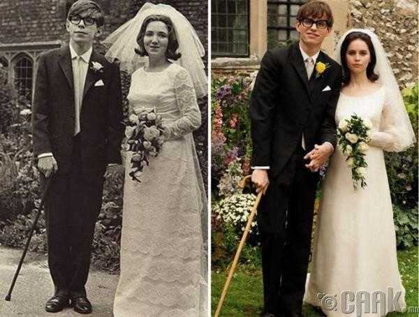 """Стивен Хокинг (Stephen Hawking)- жүжигчин Эдди Рэдмейн ( Eddie Redmeyn) """"Theory of Everything"""""""