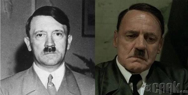 "Адольф Гитлер (Adolf Hitler)- жүжигчин Бруно Ганз (Bruno Ganz) ""Bunker - Fall"""