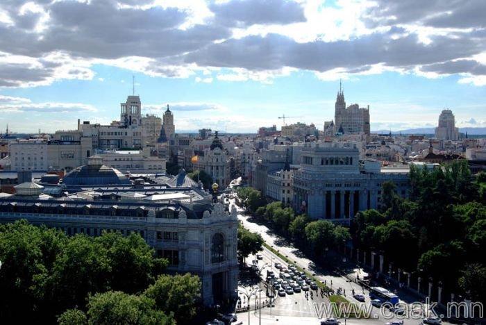 Мадрид. Испани - 1,127