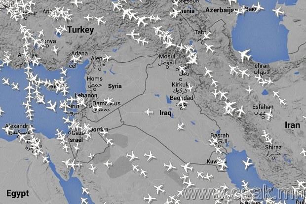 Иракийн хойд зүг болон Сири