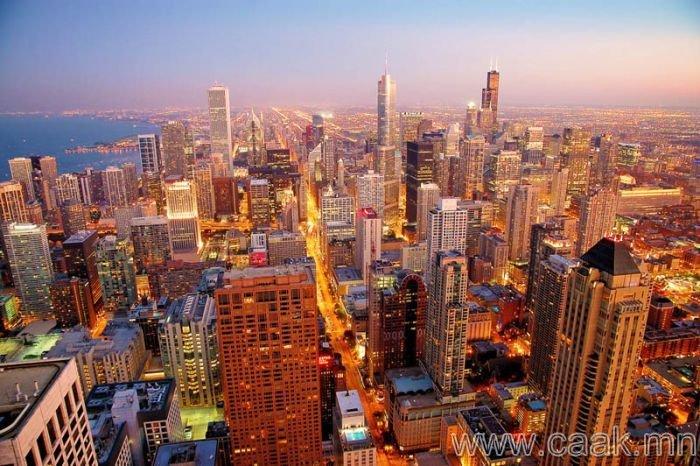 Чикаго. АНУ - 1,125