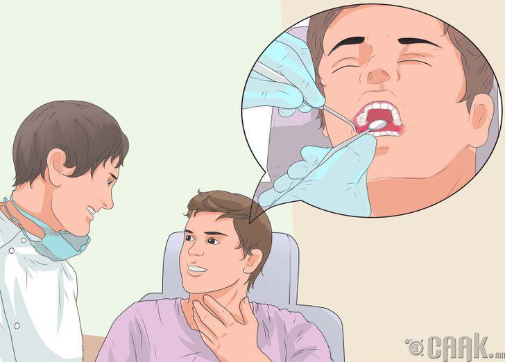 Шүдний эмчид үзүүлэх