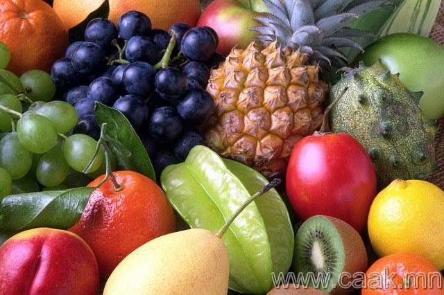Байгалийн амттан болох жимс хэрэглэ.