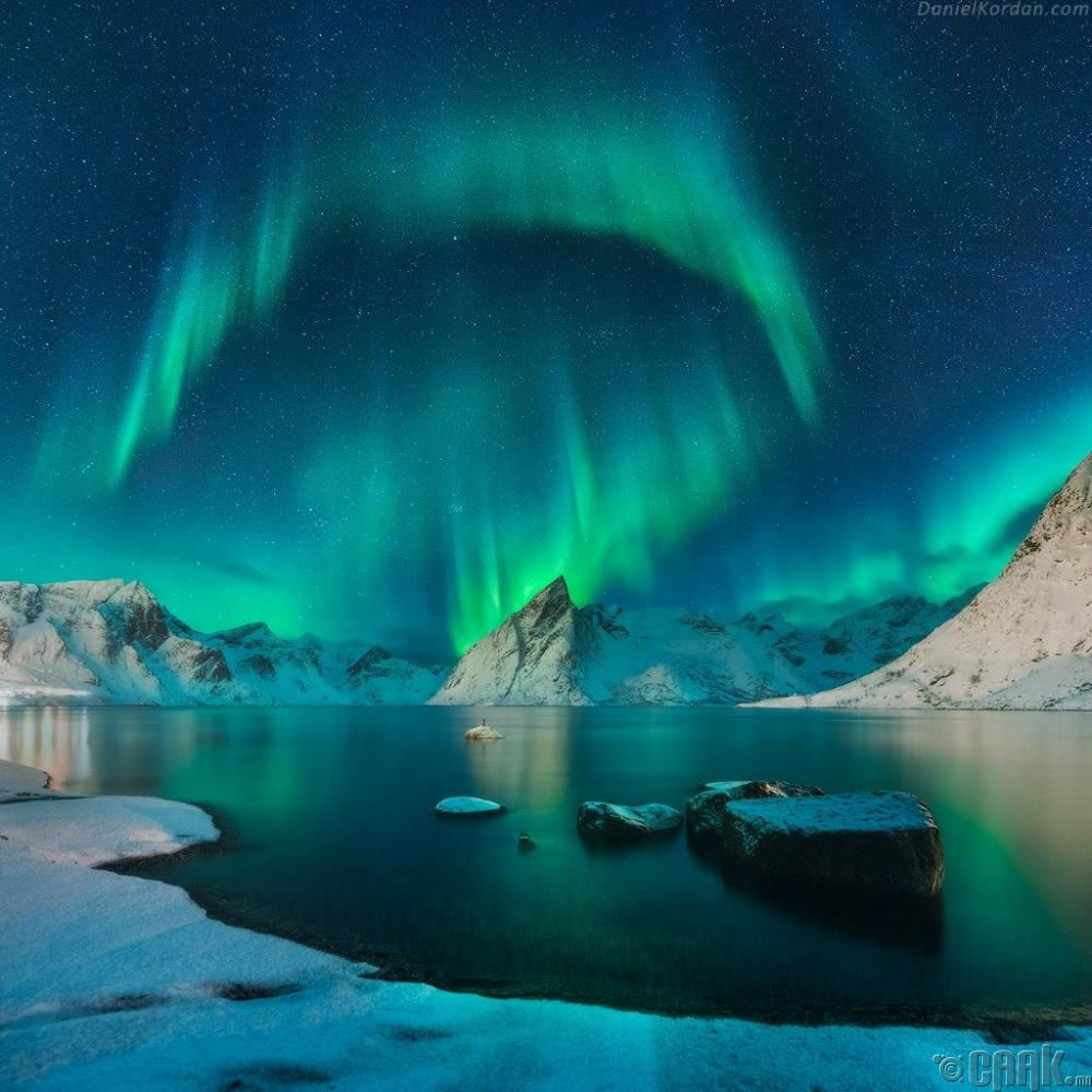 Байгалийн гайхалтай үзэгдэл, Норвеги