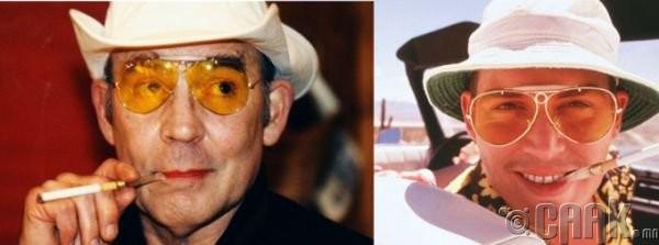 "Хантер Томпсон (Hunter Thompson)- жүжигчин Жонни Депп (Johnny Depp) ""Fear and Loathing in Las Vegas"""