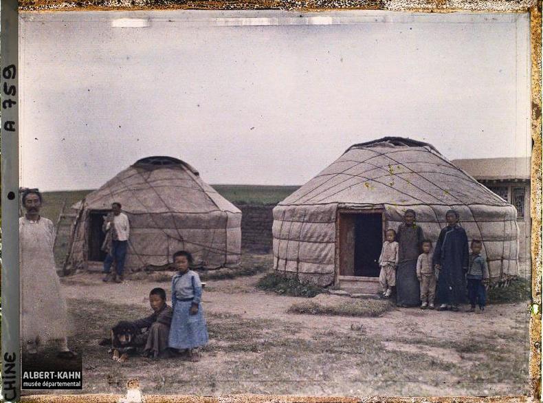 Малчин айлын хүүхдүүд (Стефан Пассе, 1912)