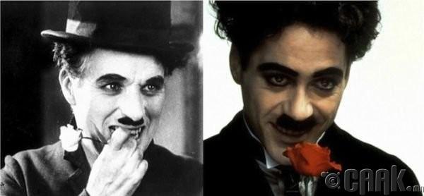 """Чарли Чаплин (Charlie Chaplin)- жүжигчин Роберт Дауни (Robert Downey) """"Chaplin"""""""