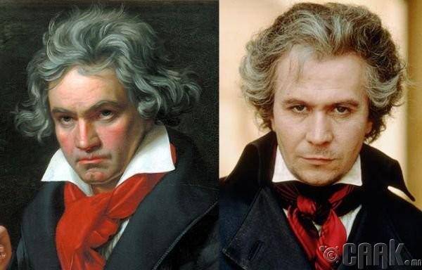 """Людвиг ван Бетховен (Ludwig van Beethoven)- жүжигчин Гэри Олдман (Gary Oldman) """"Immortal Beloved"""""""