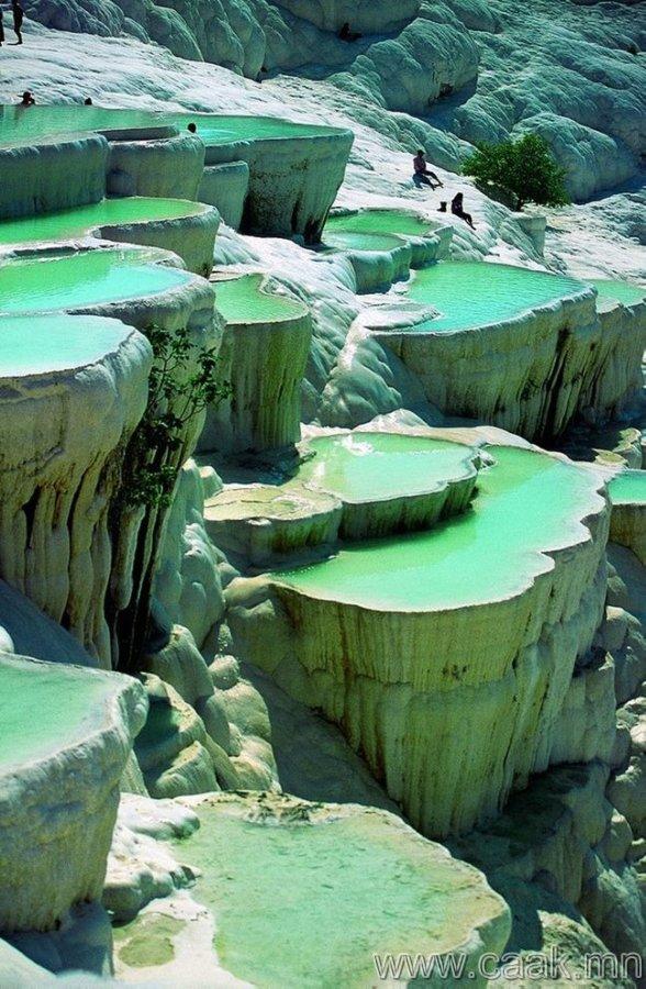 Туркийн байгалийн усан сан.
