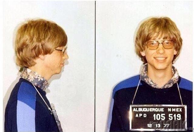 197 онд Билл Гейтс хурд хэтрүүлэн баривчлагдсаны дараа