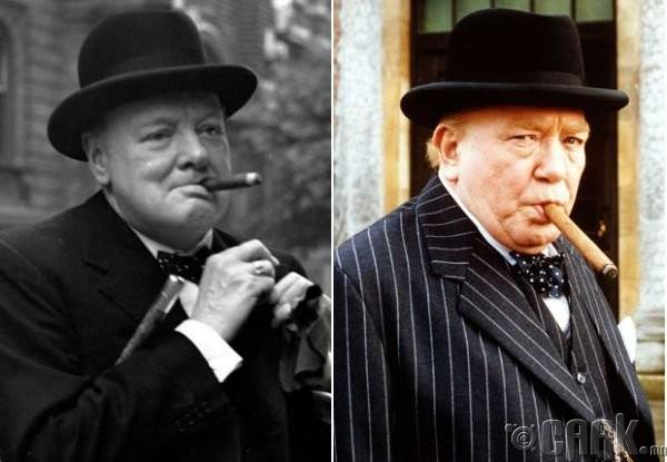 "Винстон Черчилль (Winston Churchill)- жүжигчин Альюерт Финни (Alyuert Finney) ""Gathering Storm"""