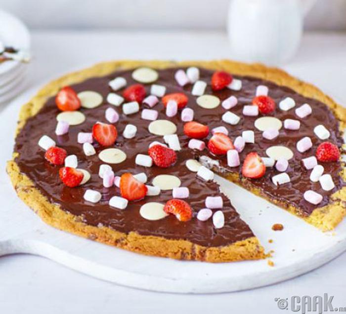 Шоколадтай пицца