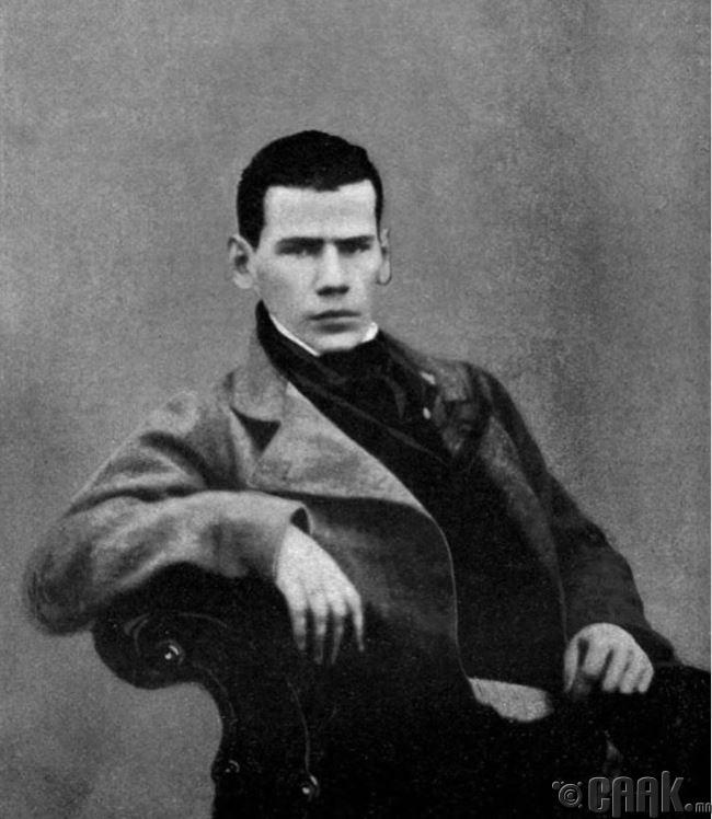 20 настай Лев Толстой, 1848 он
