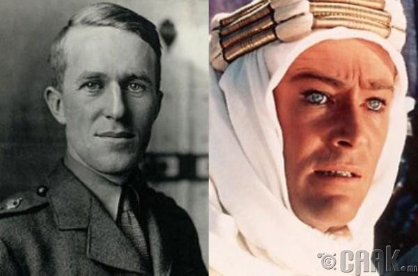 "Томас Эдвард Лоуренс (Thomas Edward Lawrence)- жүжигчин Питер Ш'Тул (Peter Sch'Tul) ""Lawrence of Arabia"""