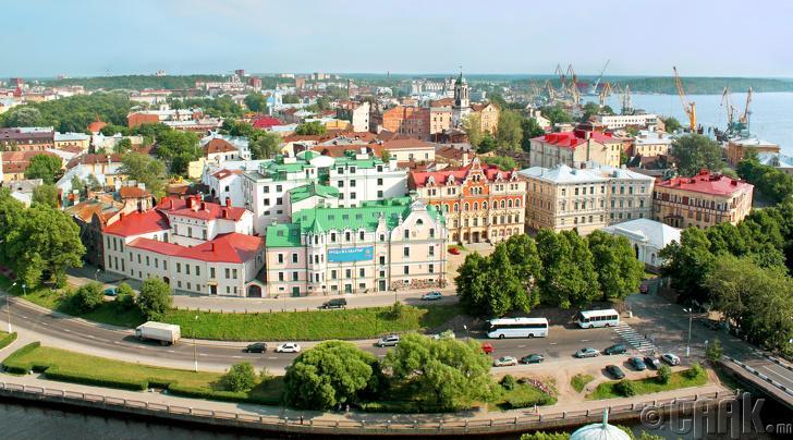 Оросод байх хамгийн Европ маягийн хот бол Выборг
