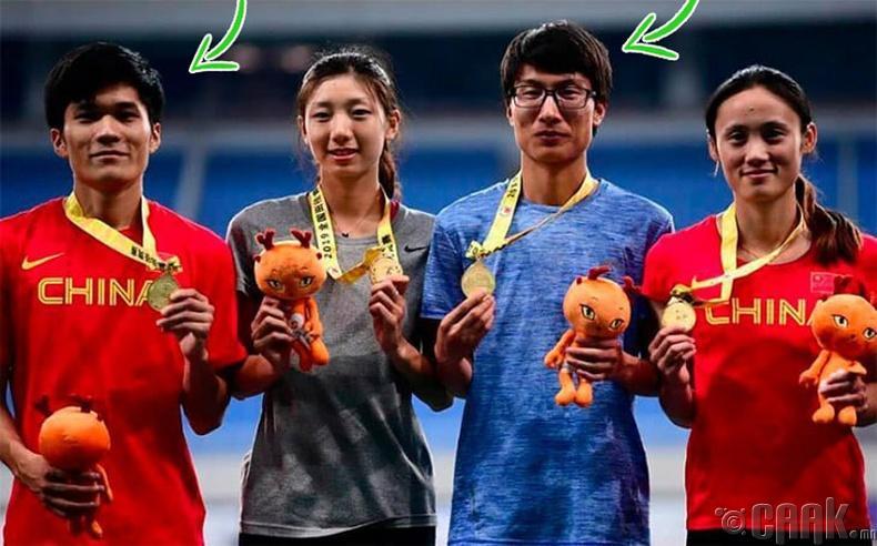 """Эмэгтэйчүүдийн гүйлтийн тэмцээнд түрүүлсэн """"сэжигтэй"""" Хятад тамирчдыг шалгаж үзтэл..."""