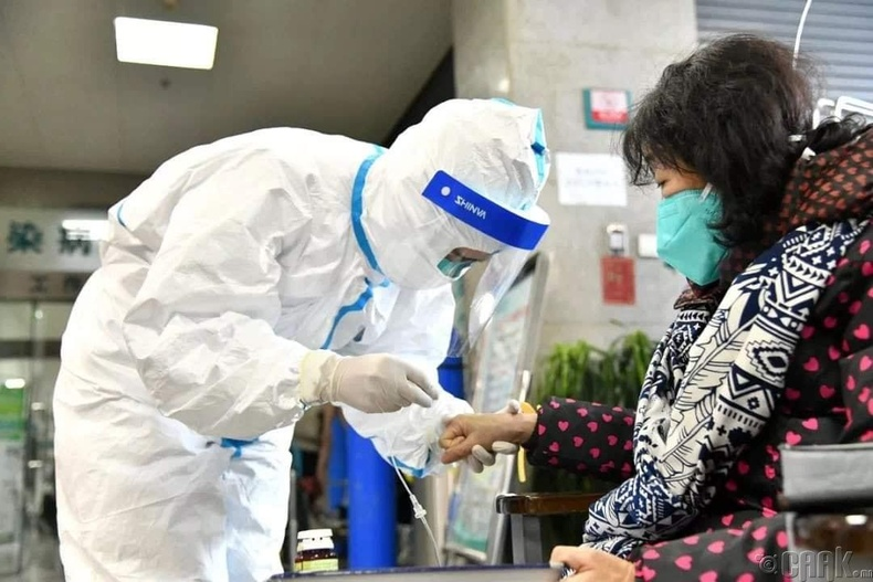 Шинэ коронавирусыг нуклеин хүчилд зориулсан урвалжийг ашиглаж тогтоодог